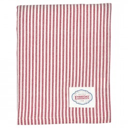 Ubrus Alice stripe red 145 x 250cm