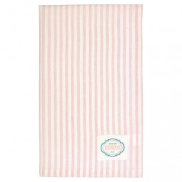 Utěrka Alice stripe pale pink
