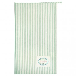 Utěrka Alice stripe pale green