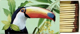 Zápalky Toucan in paradise